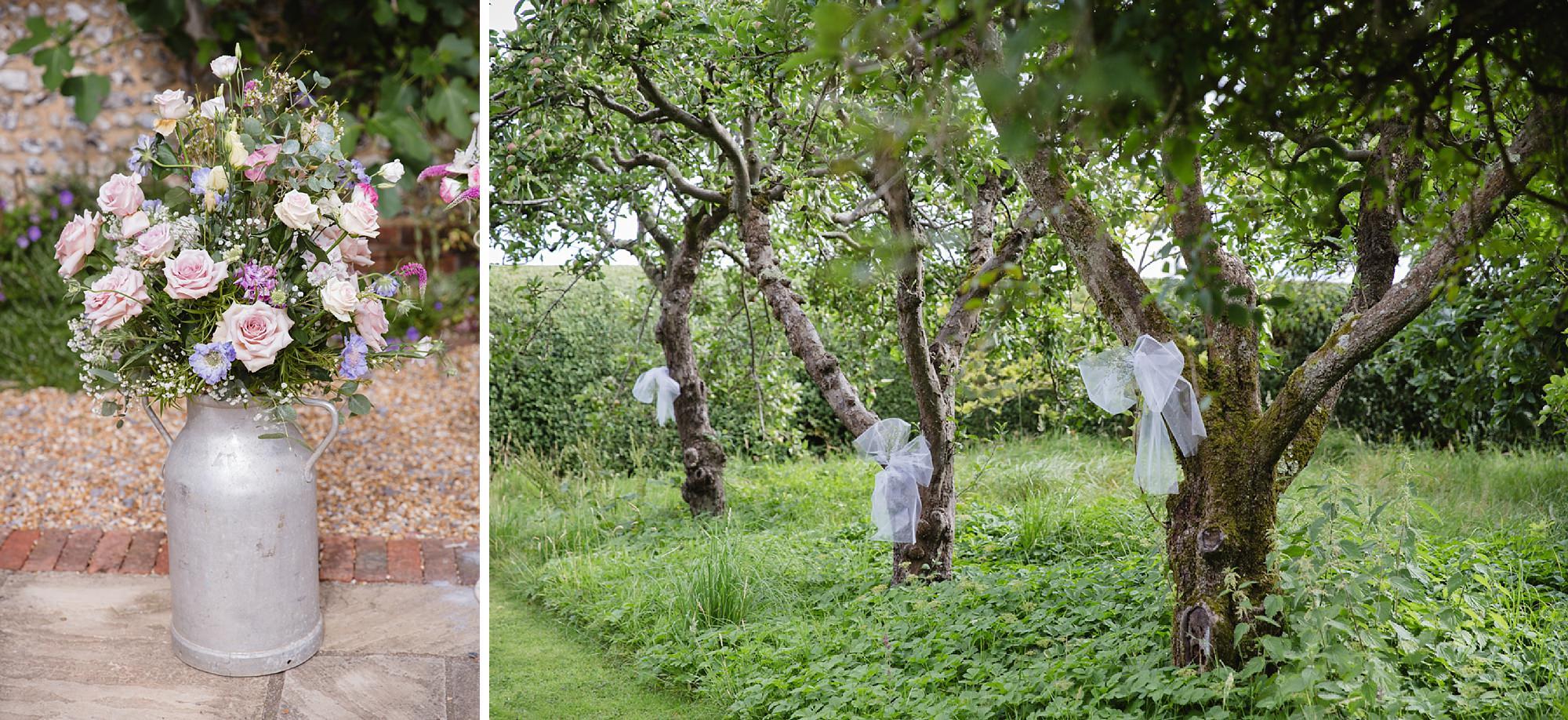 Bignor Park wedding photography gardens decor