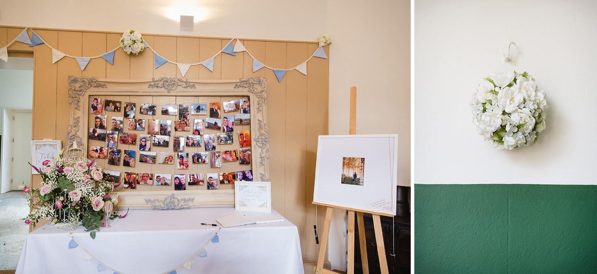 Bignor Park wedding photography decorations