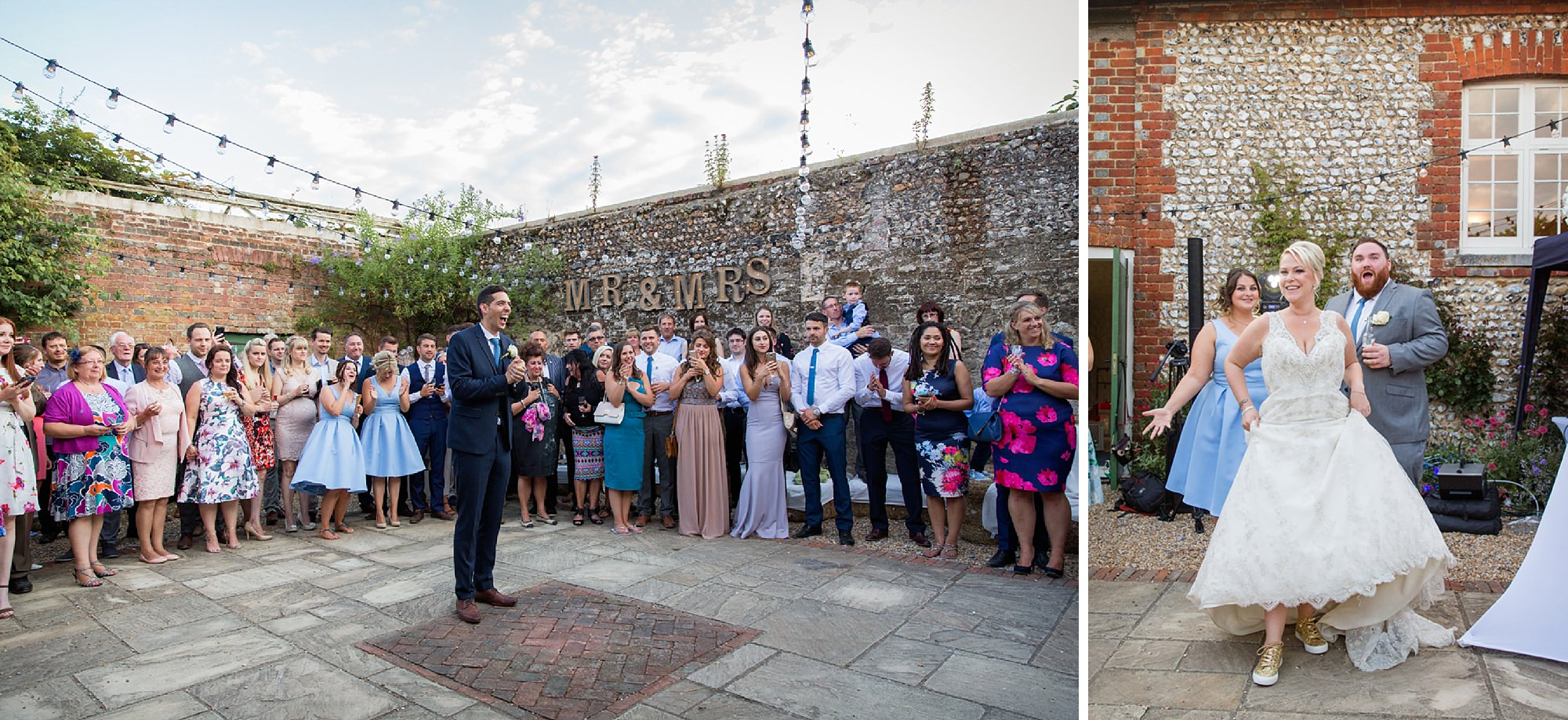 Bignor Park wedding photography first dance