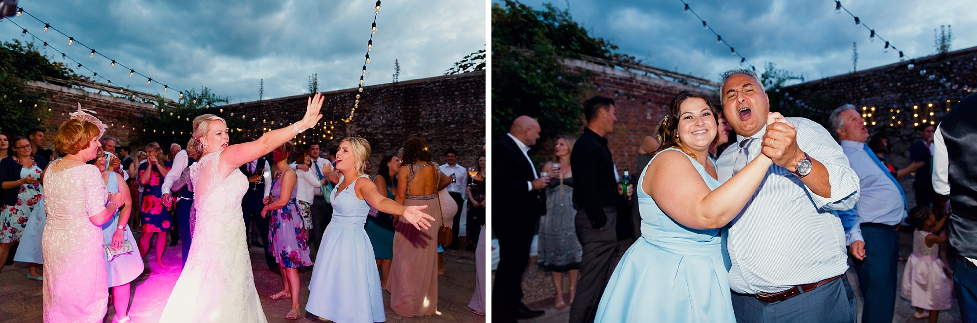 Bignor Park wedding photography fun dancing