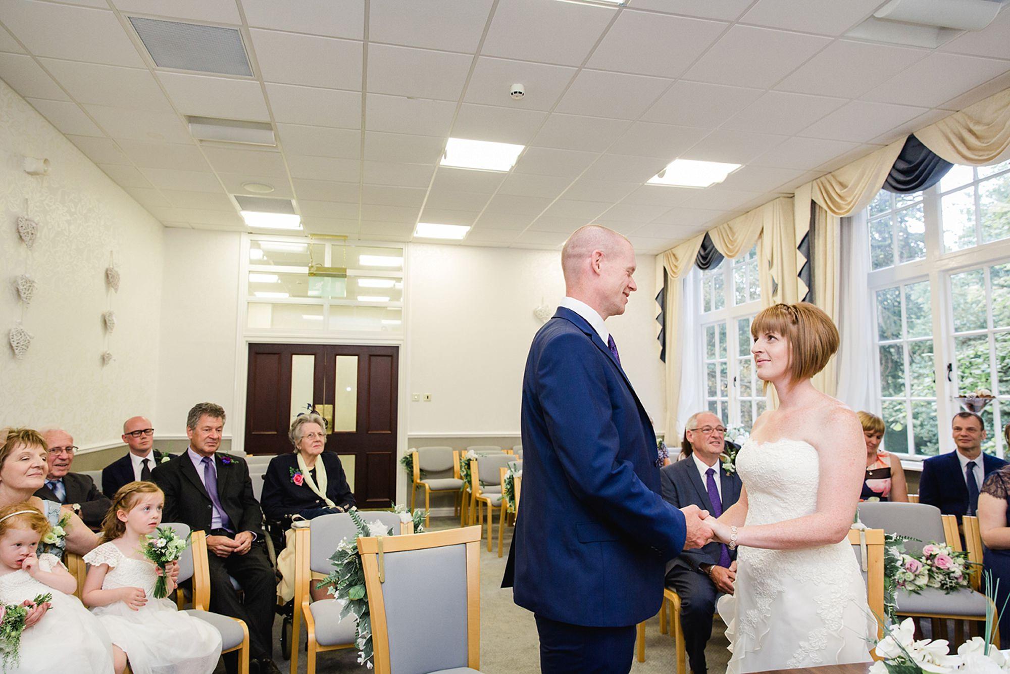 Mill House hotel wedding photography wedding ceremony