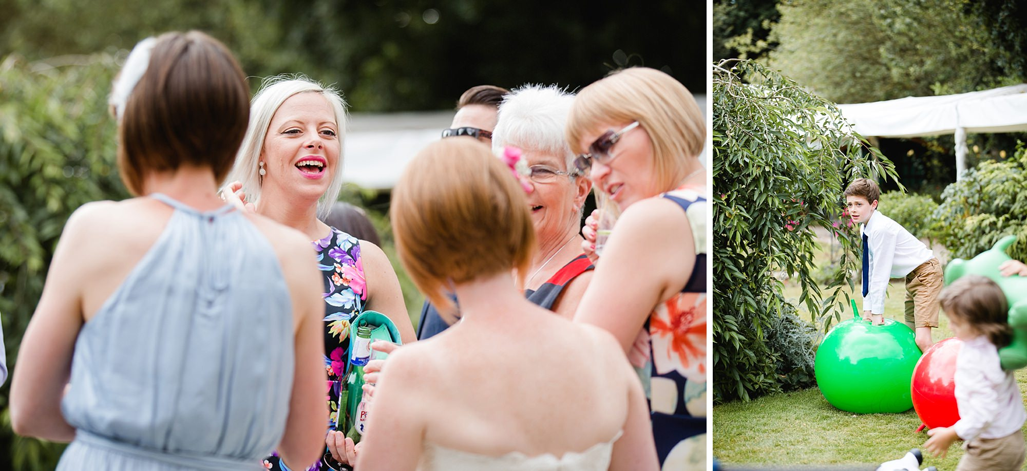 Mill House hotel wedding photography fun guests