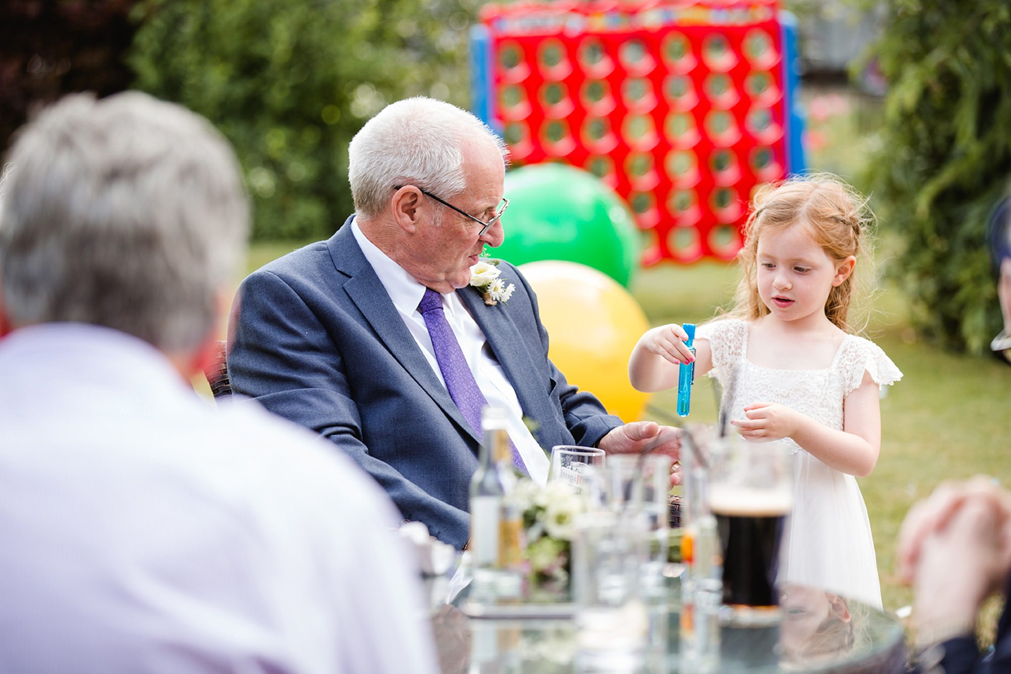 Mill House hotel wedding photography wedding guests