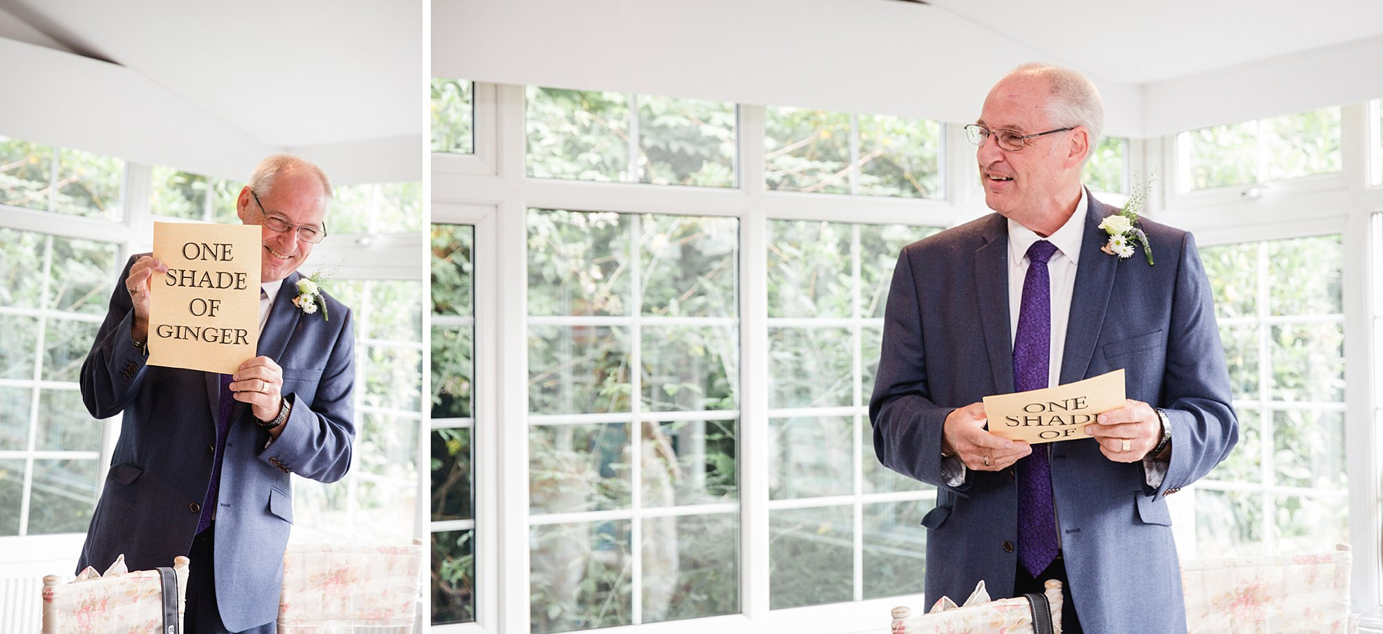 Mill House hotel wedding photography father of bride speech