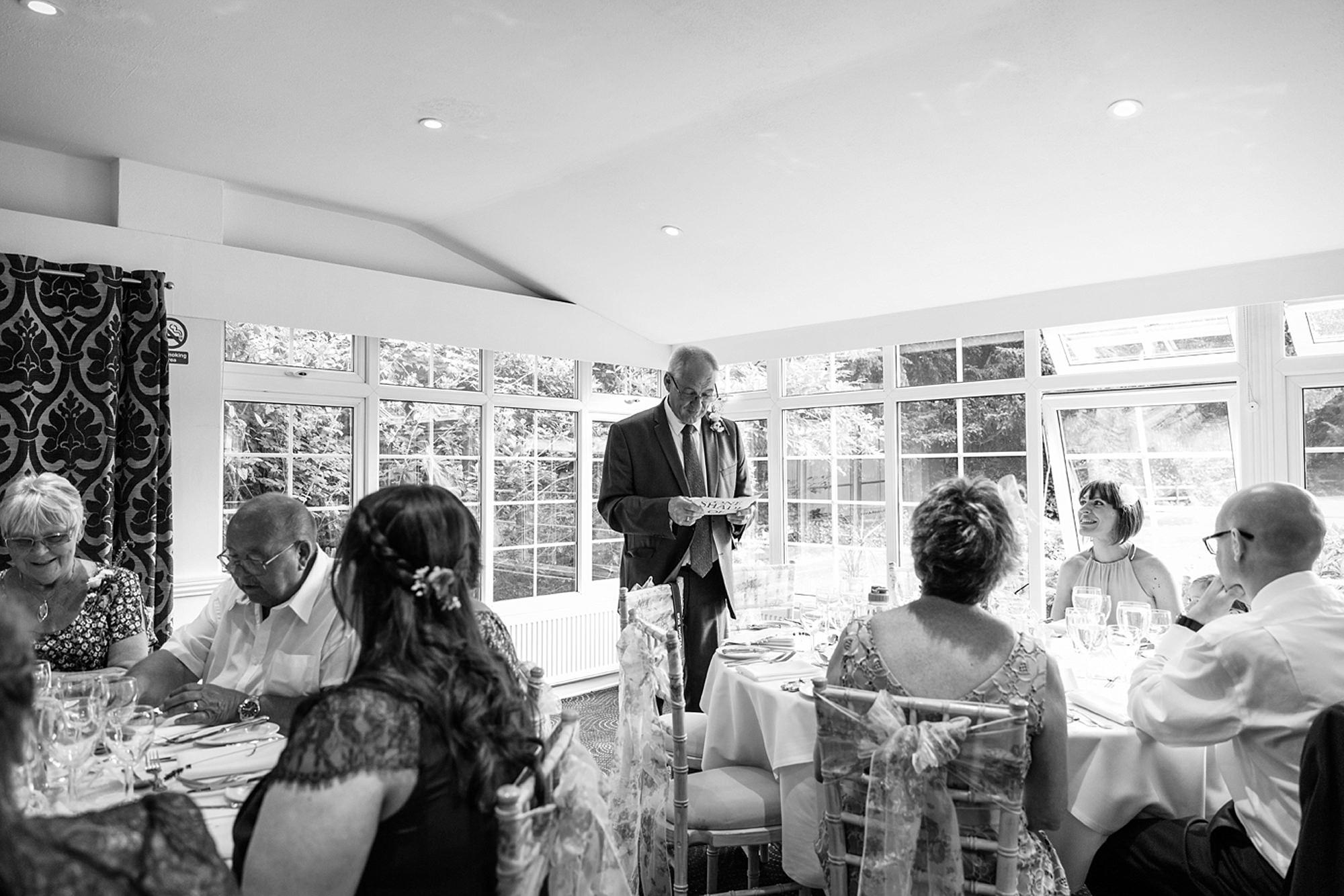 Mill House hotel wedding photography wedding speeches