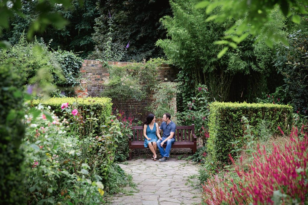 Engagement shoot at The Rookery, Streatham