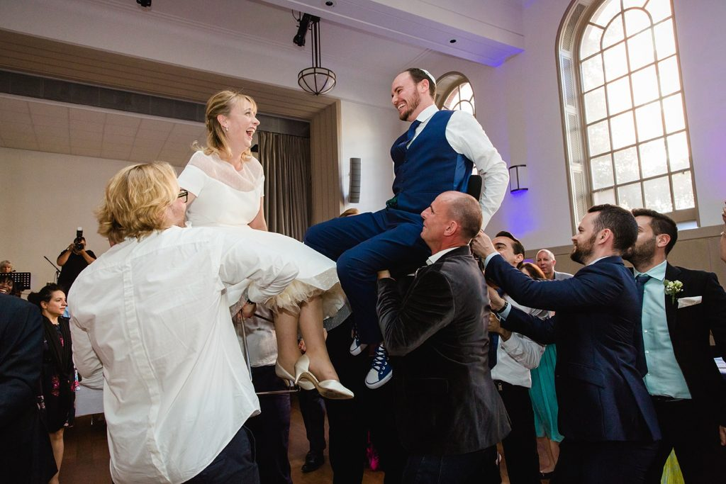 West London Synagogue wedding photography – Sara & George