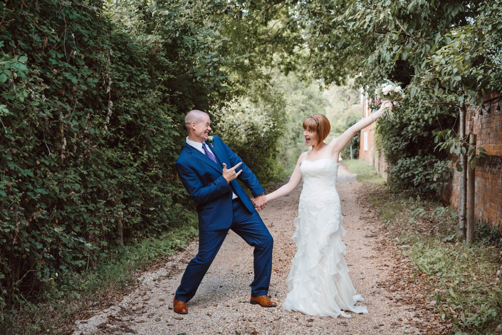 Mill House hotel wedding photography – Laura and Carl's fun intimate wedding
