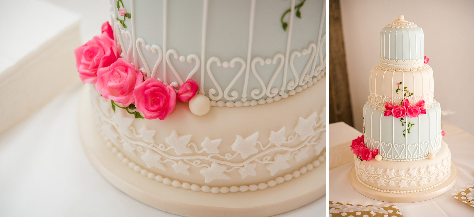 Old Greens Barn Newdigate wedding photography wedding cake