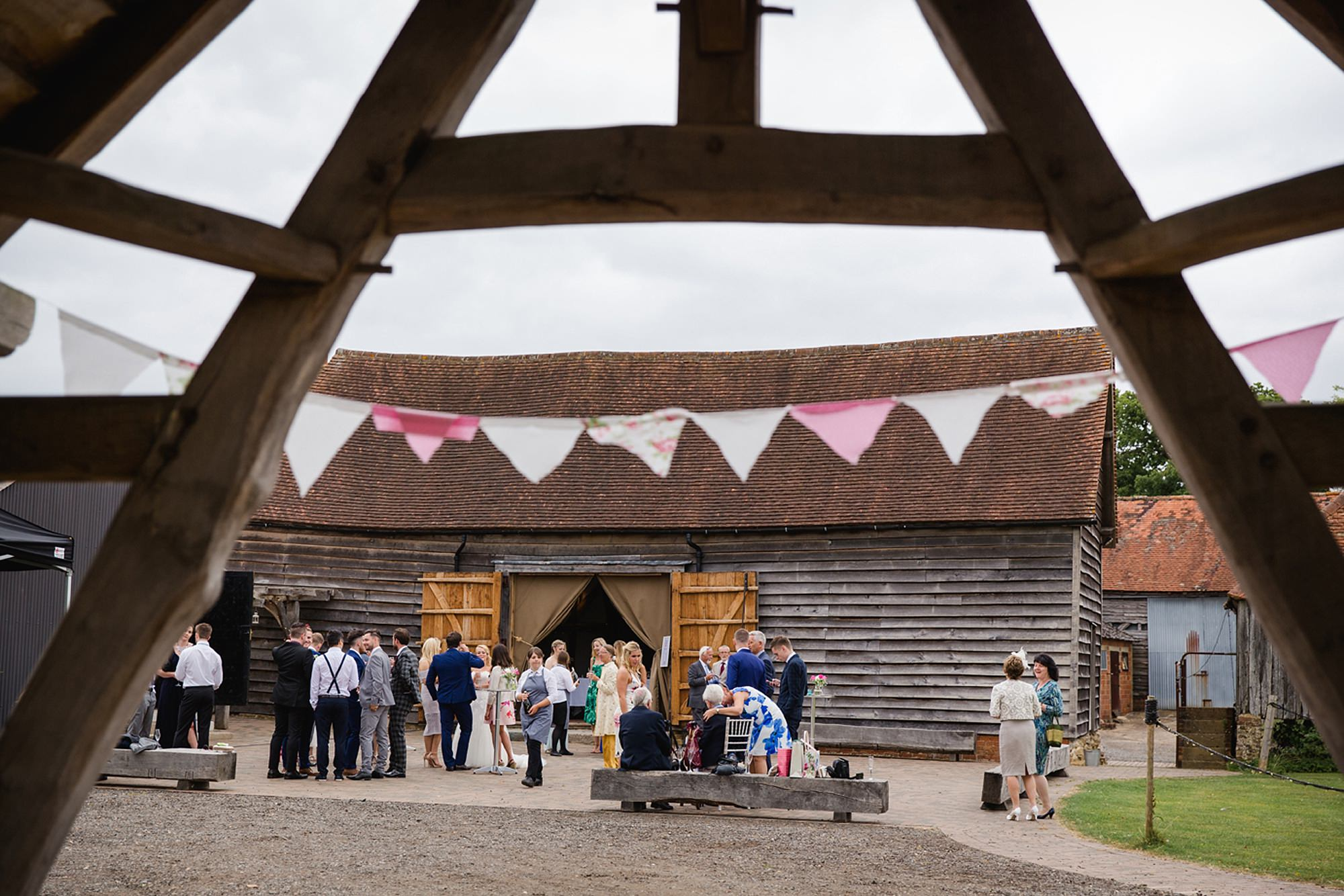 Old Greens Barn Newdigate wedding photography barn grounds