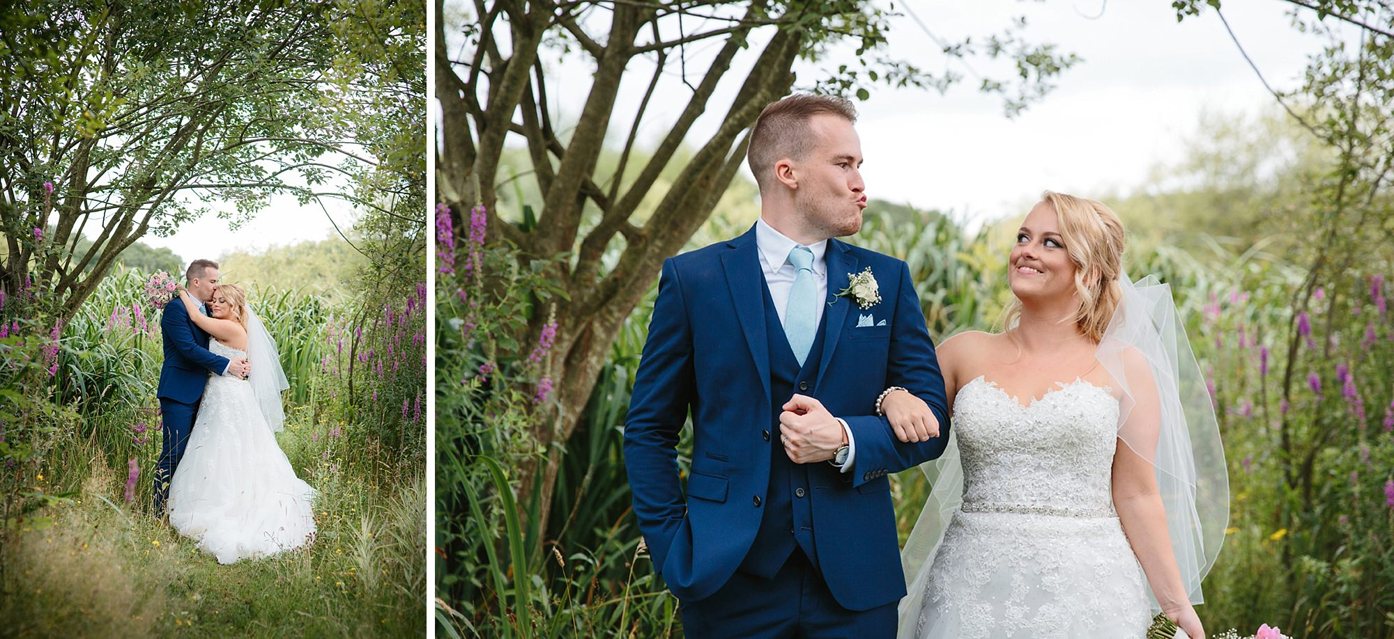 Old Greens Barn Newdigate wedding photography fun wedding portrait