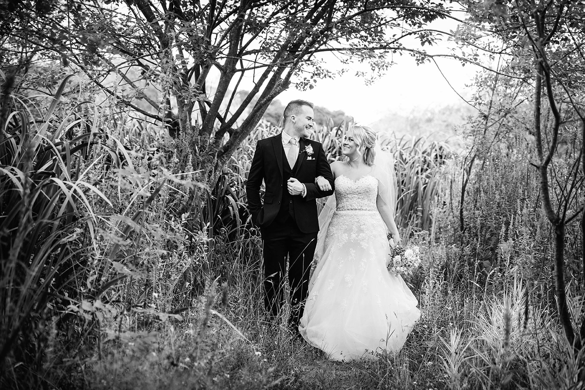 Old Greens Barn Newdigate wedding photography bride and groom portrait