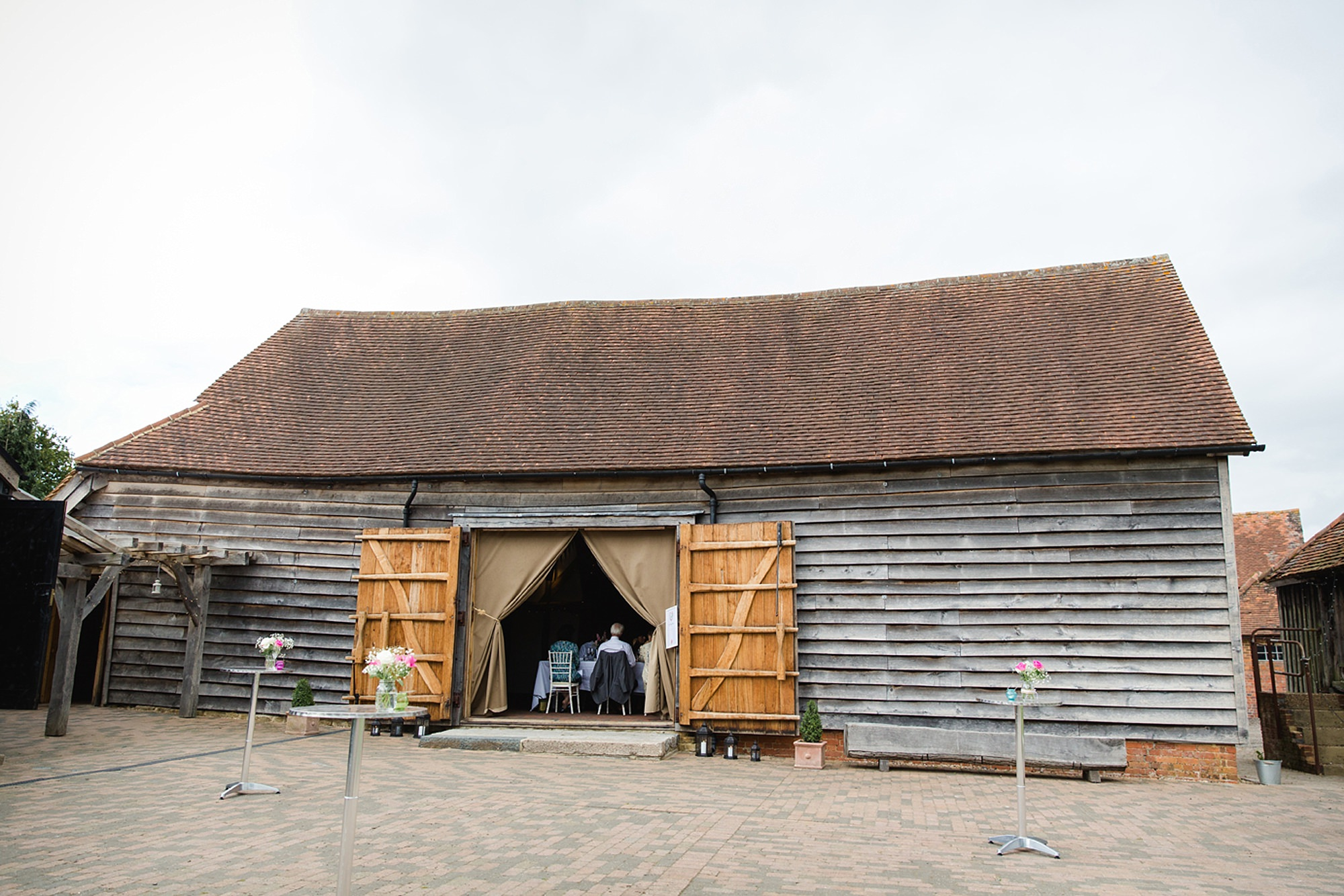 Old Greens Barn Newdigate wedding photography barn