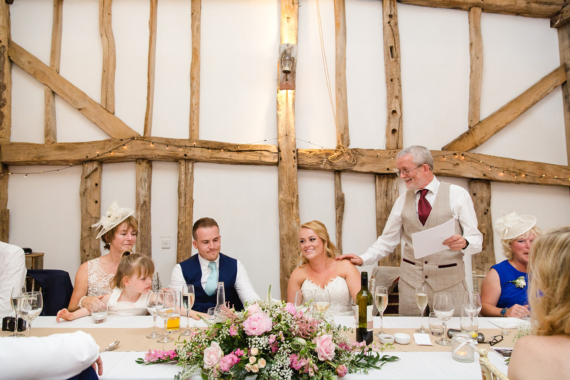 Old Greens Barn Newdigate wedding photography wedding speeches