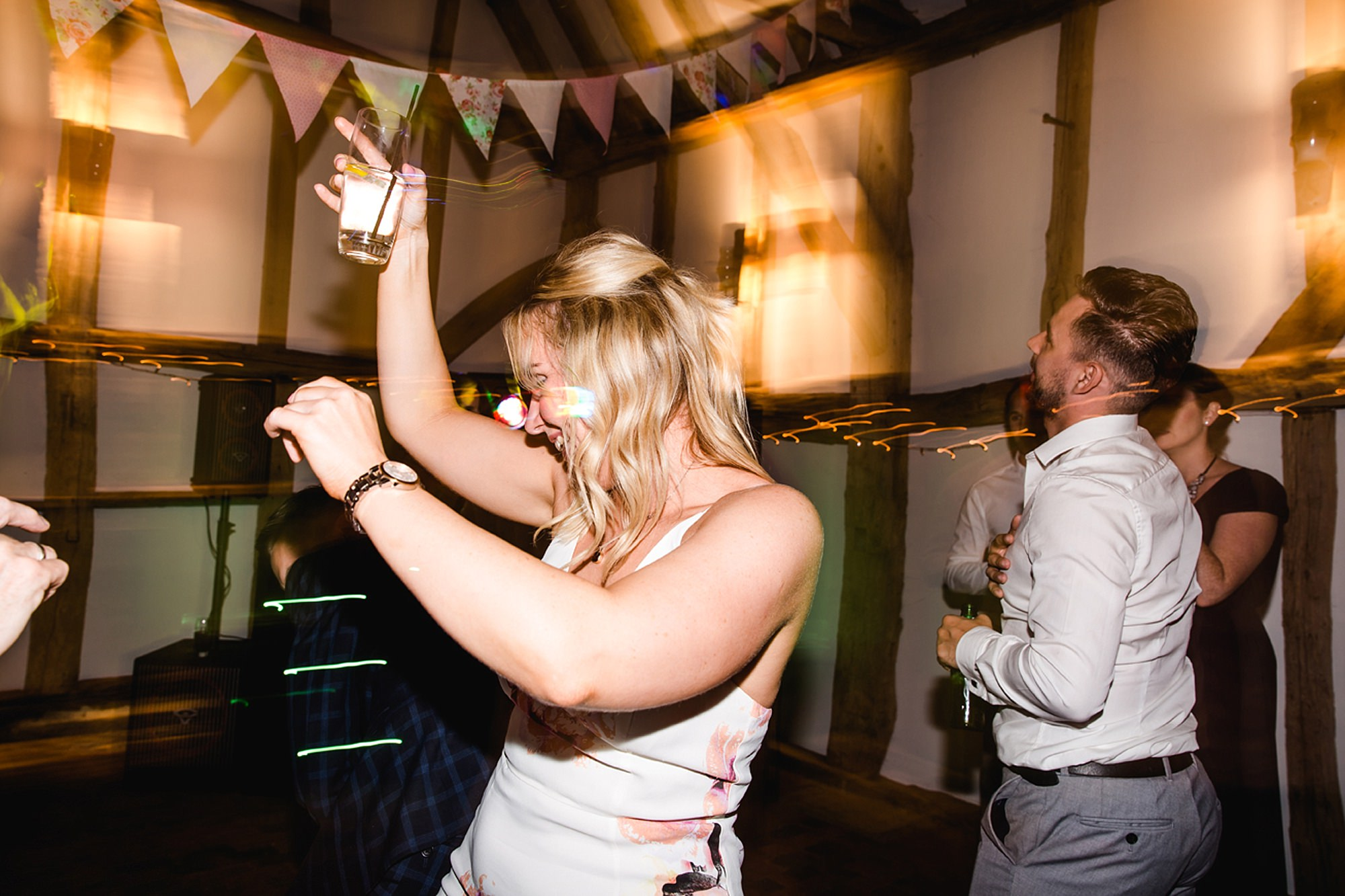 Old Greens Barn Newdigate wedding photography best dancing