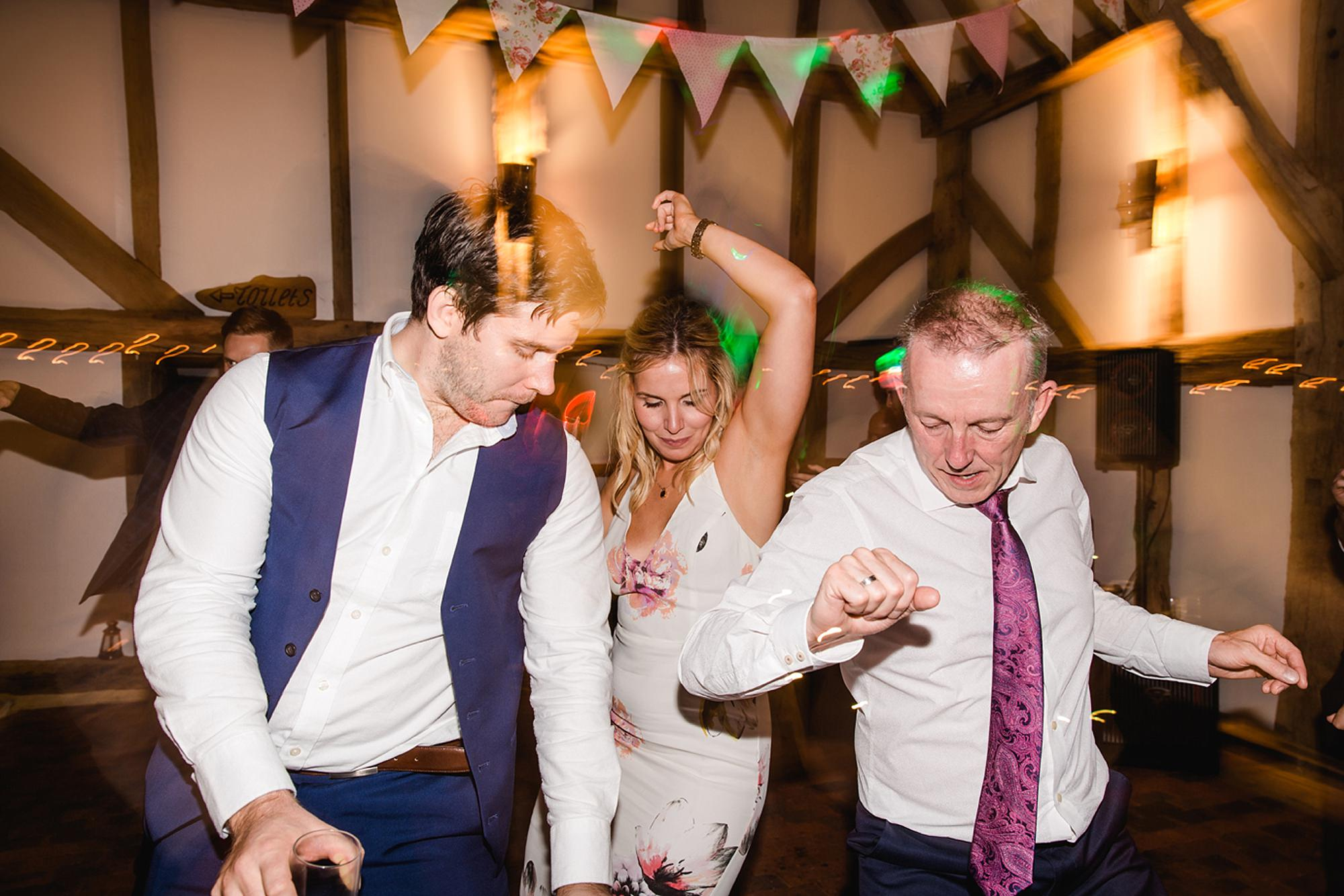 Old Greens Barn Newdigate wedding photography dancing
