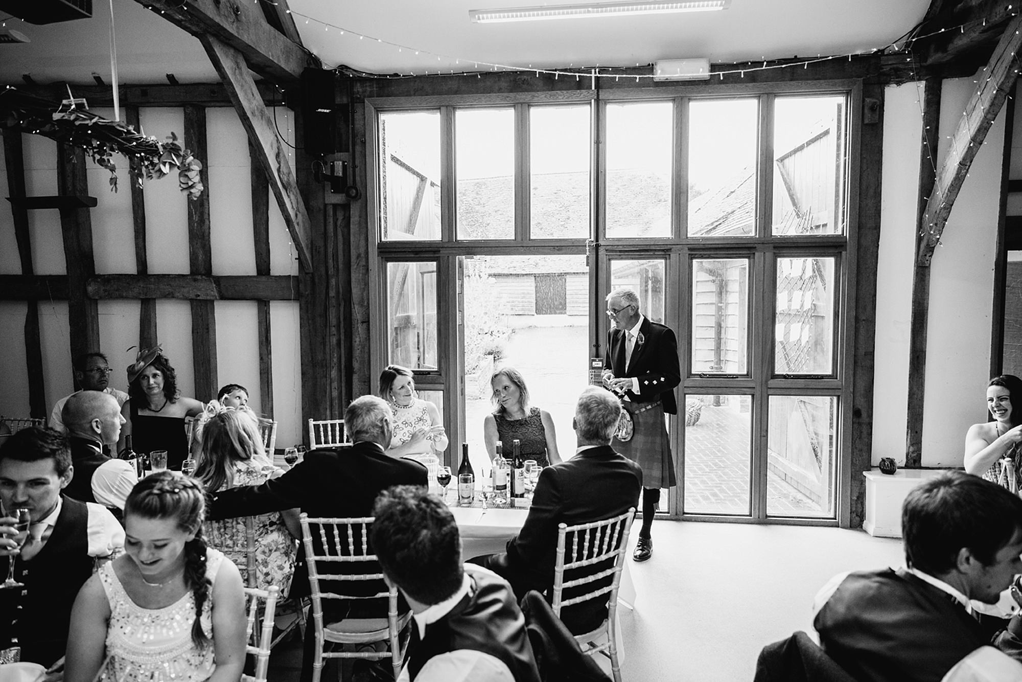 outdoor humanist wedding photography father of bride speech