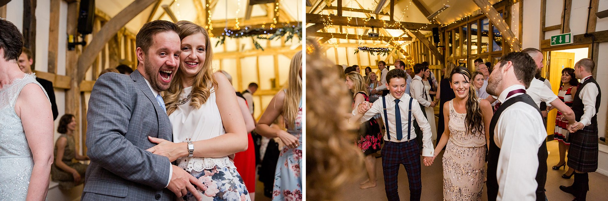 Outdoor humanist wedding photography dancing