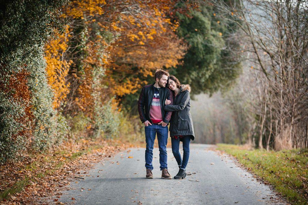 Cherhill engagement shoot with Chiara and Dan