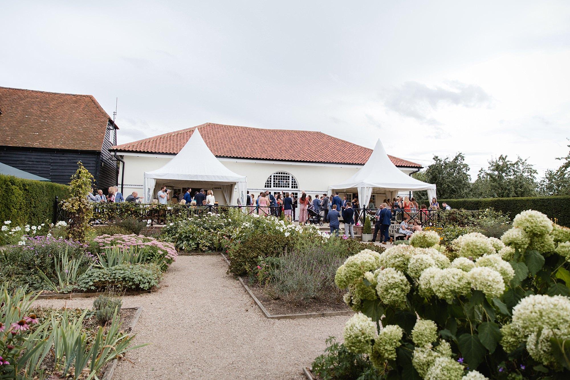 Marks Hall Estate wedding photography wedding reception