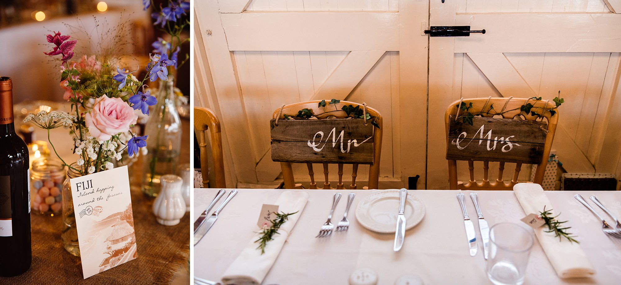 Marks Hall Estate wedding photography DIY chair detail