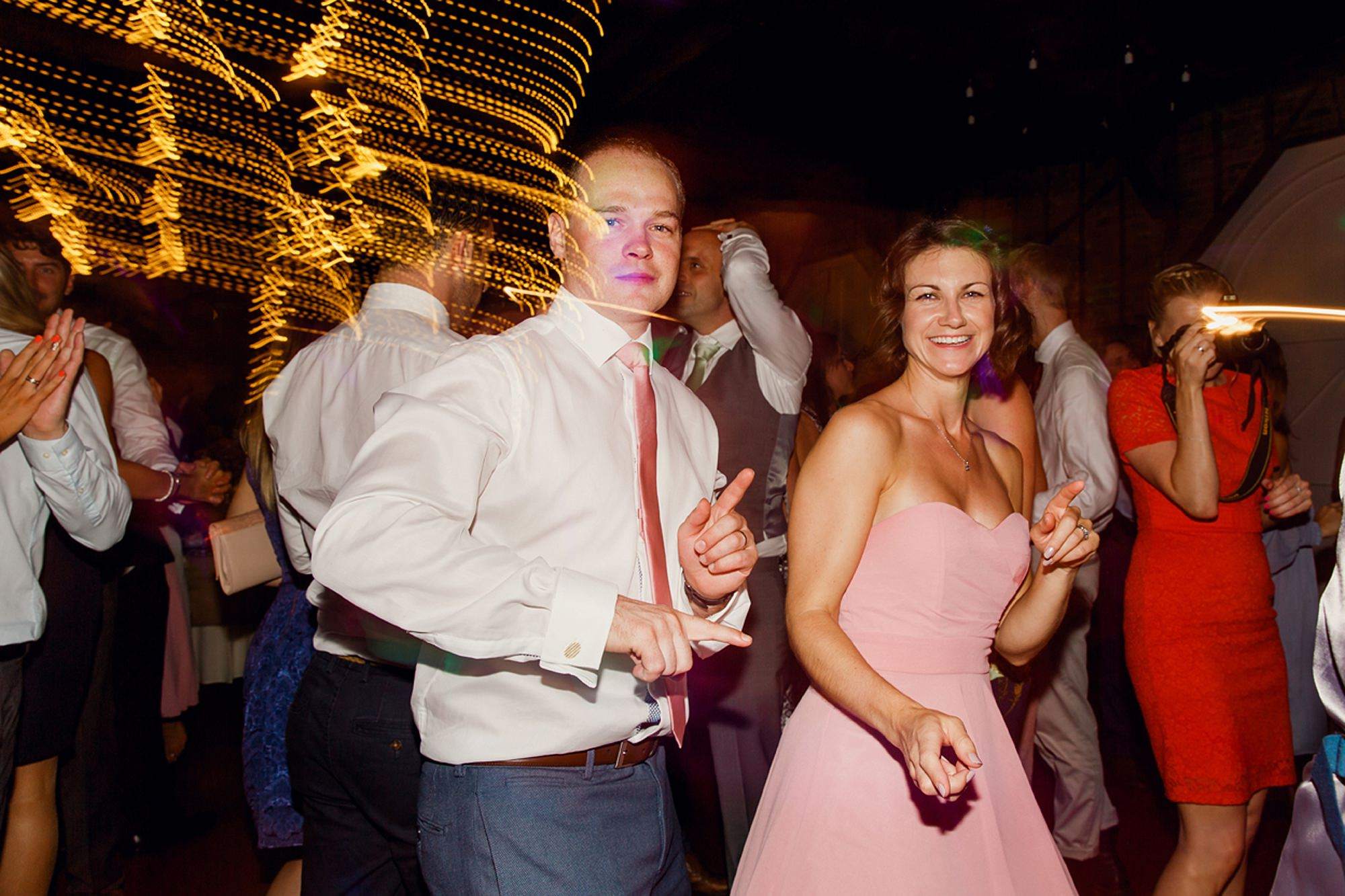 Marks Hall Estate wedding photography dancing