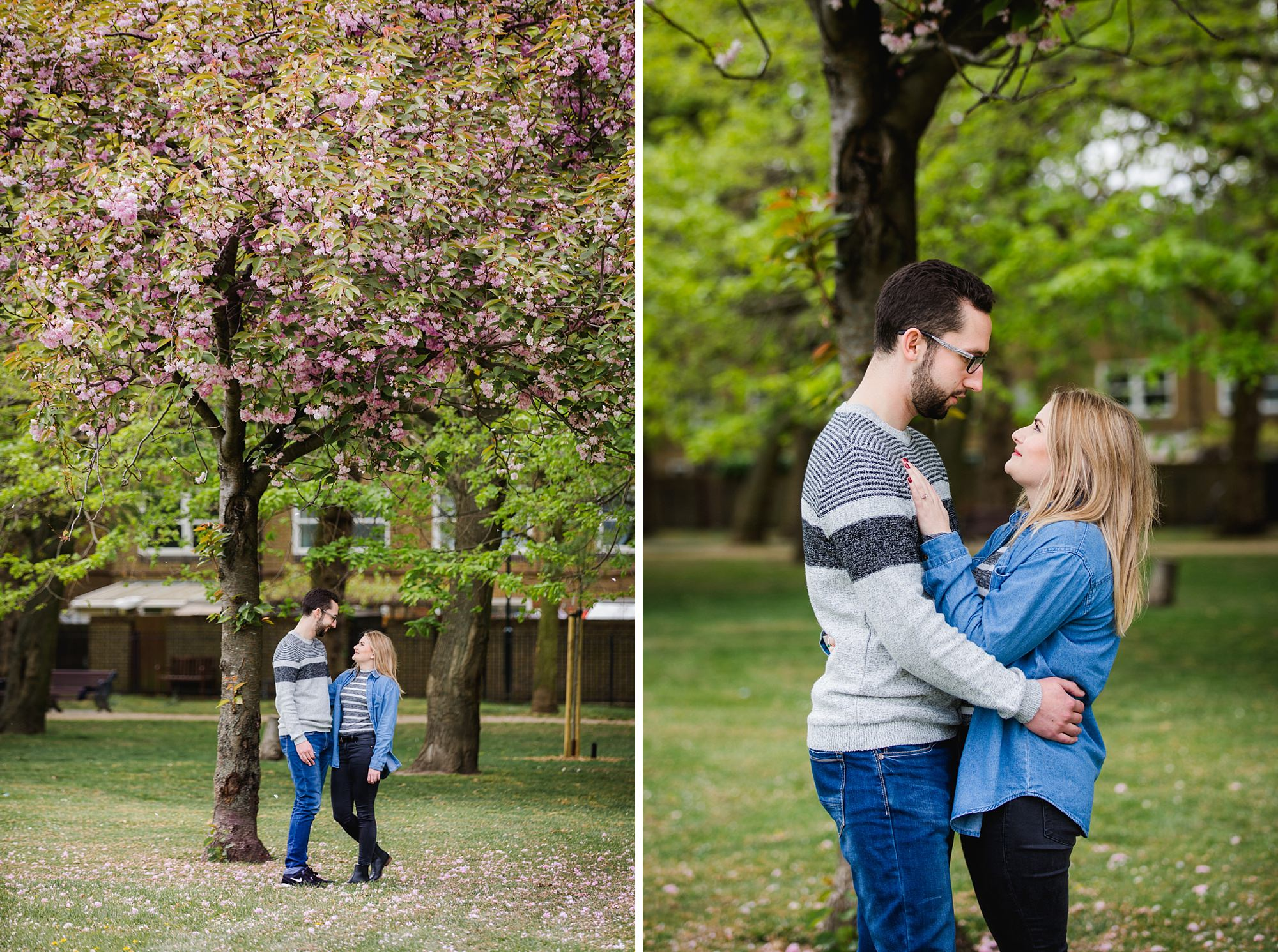 Victoria park engagement photography in hackney