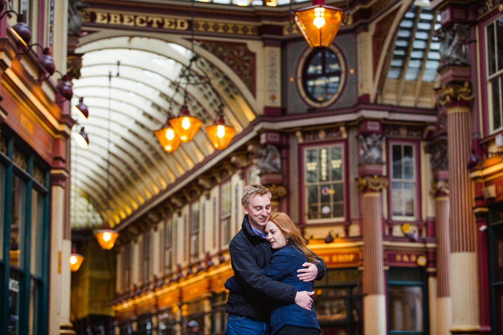 London engagement shoot with Ellen and Kieren