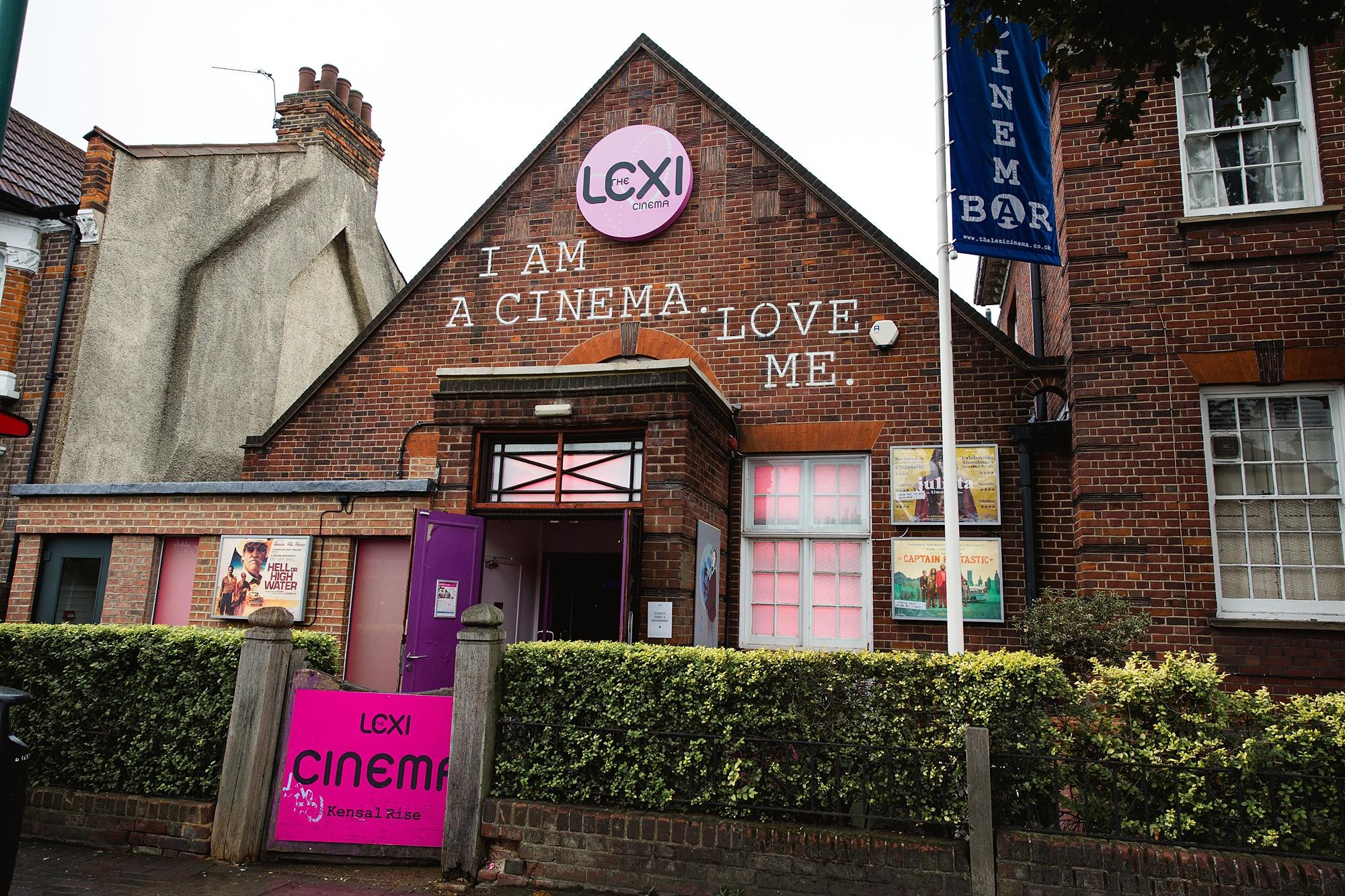 Paradise by way of Kensal Green wedding the Lexi cinema