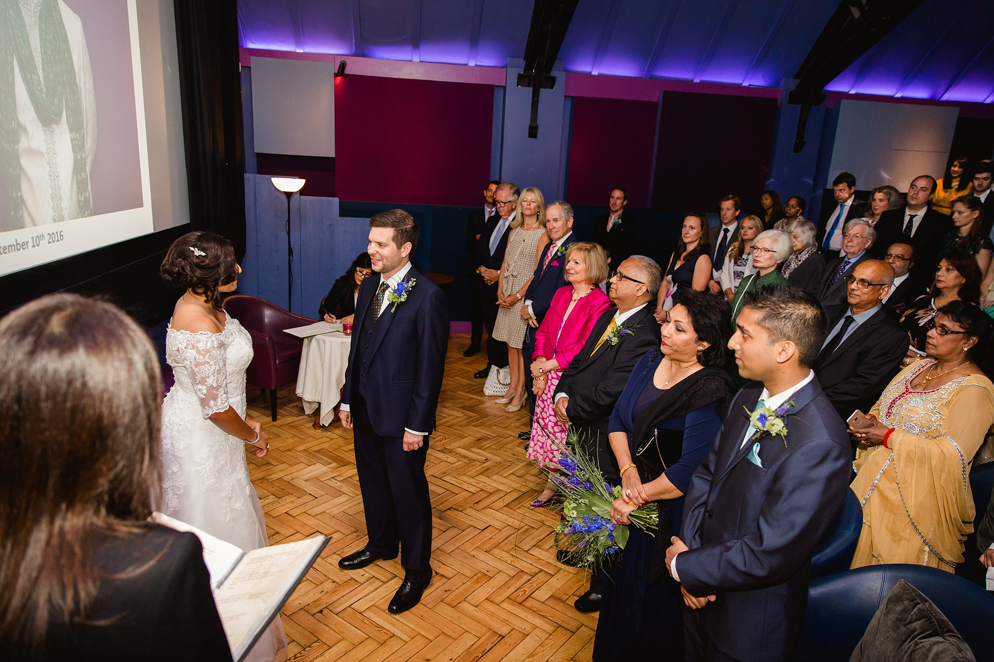 Paradise by way of Kensal Green wedding ceremony vows