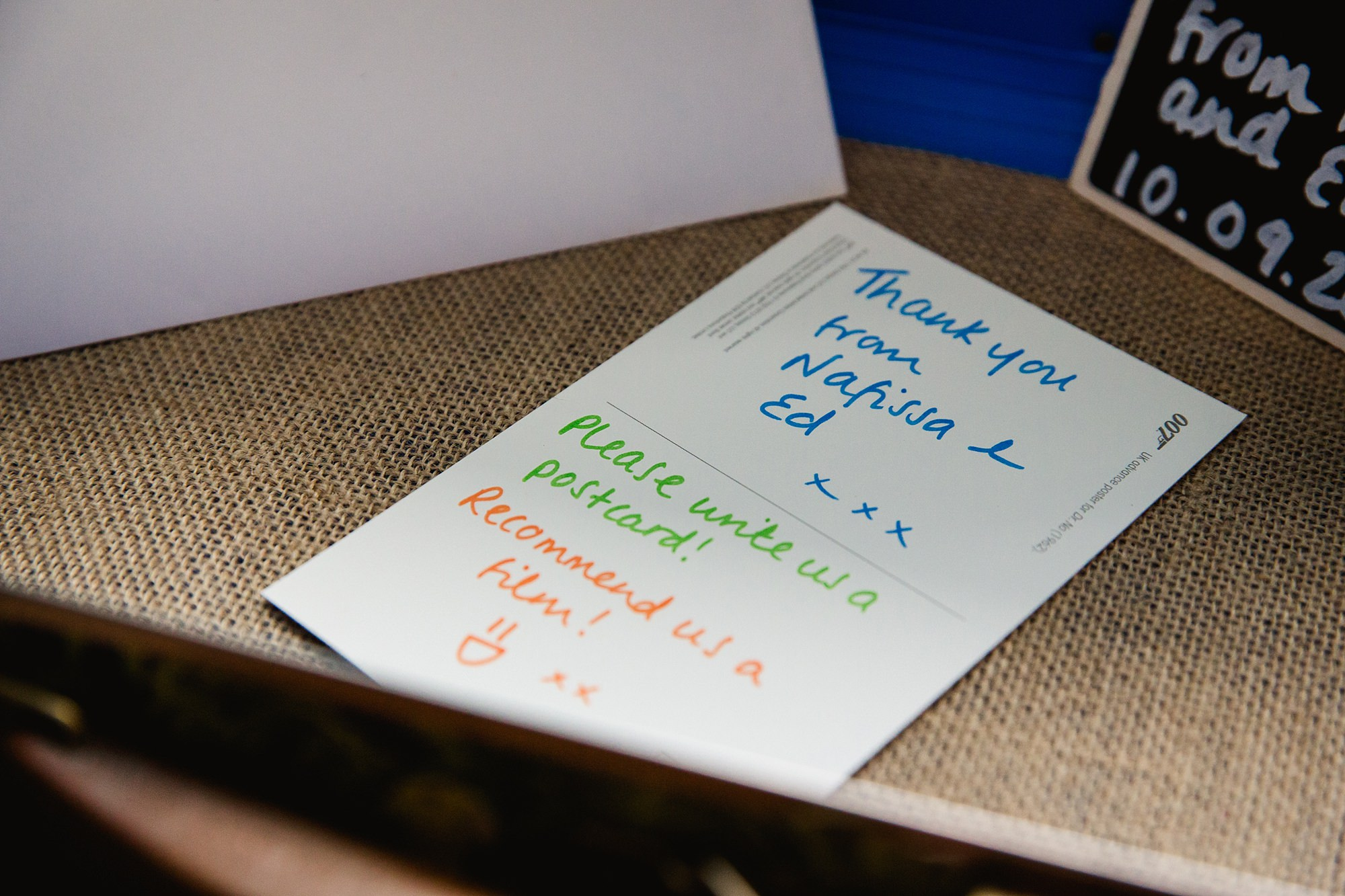 Paradise by way of Kensal Green wedding guest book