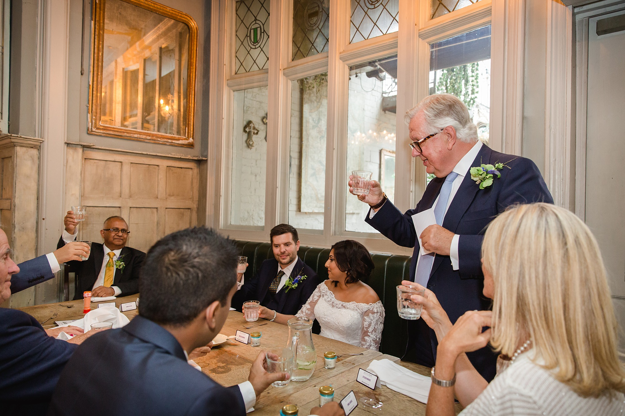 Paradise by way of Kensal Green wedding speech toast