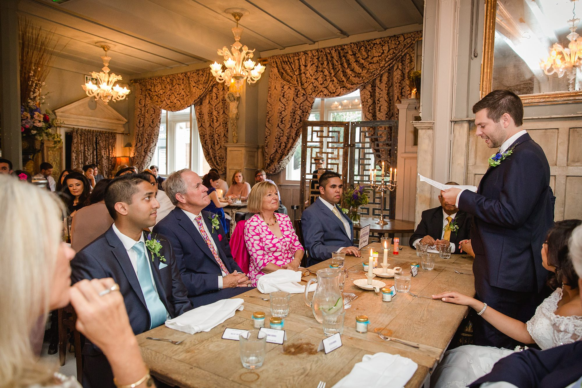 Paradise by way of Kensal Green wedding speeches