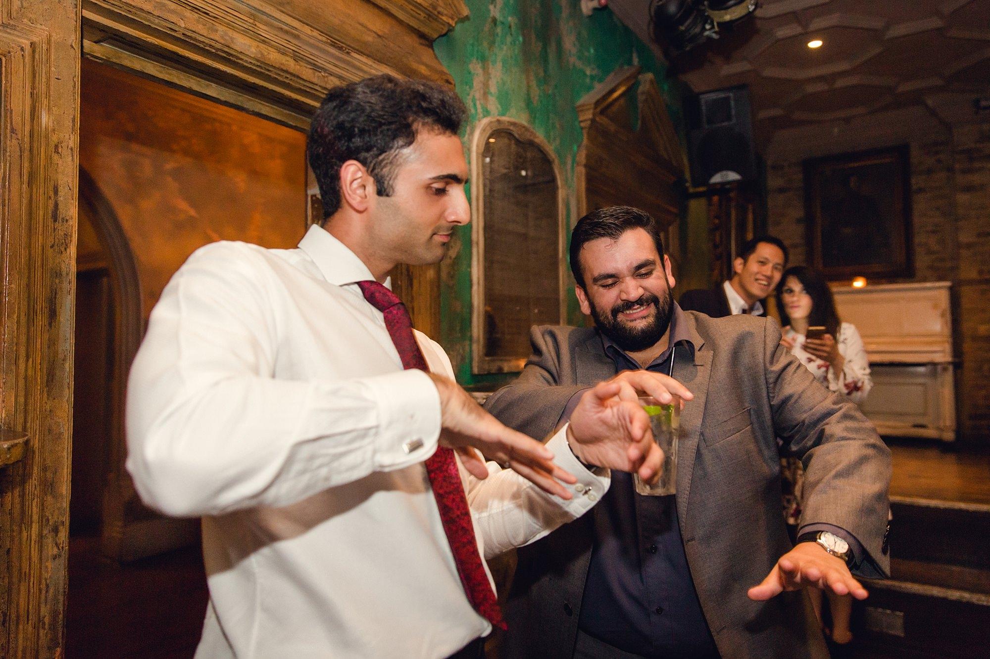 Paradise by way of Kensal Green wedding dancing guests