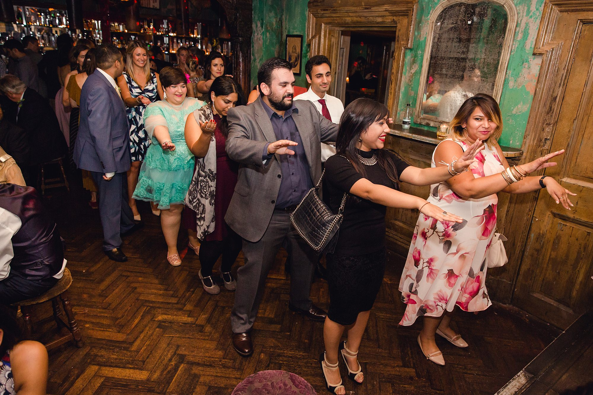 Paradise by way of Kensal Green wedding dancing