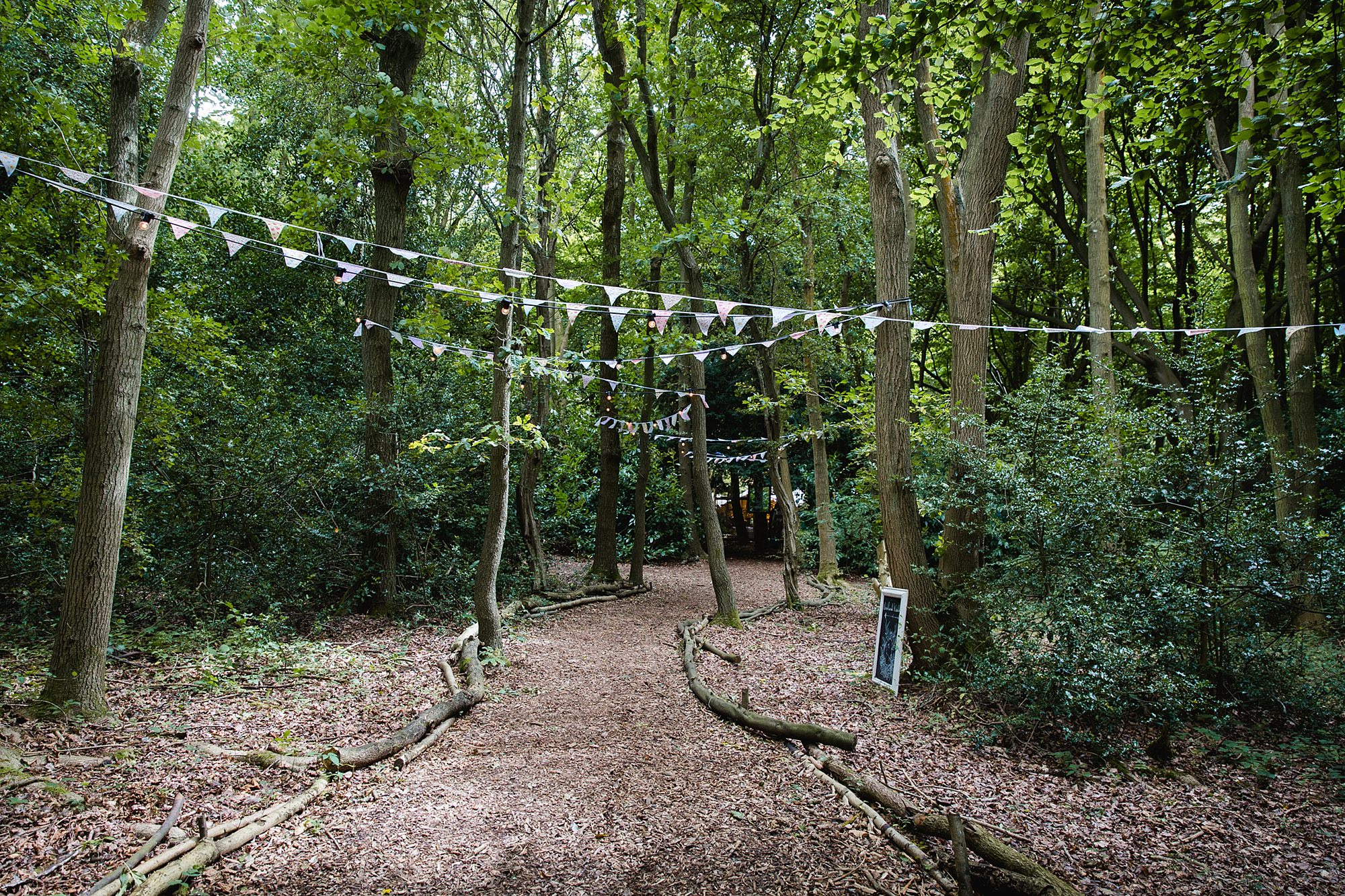 Woodland Weddings Tring entrance