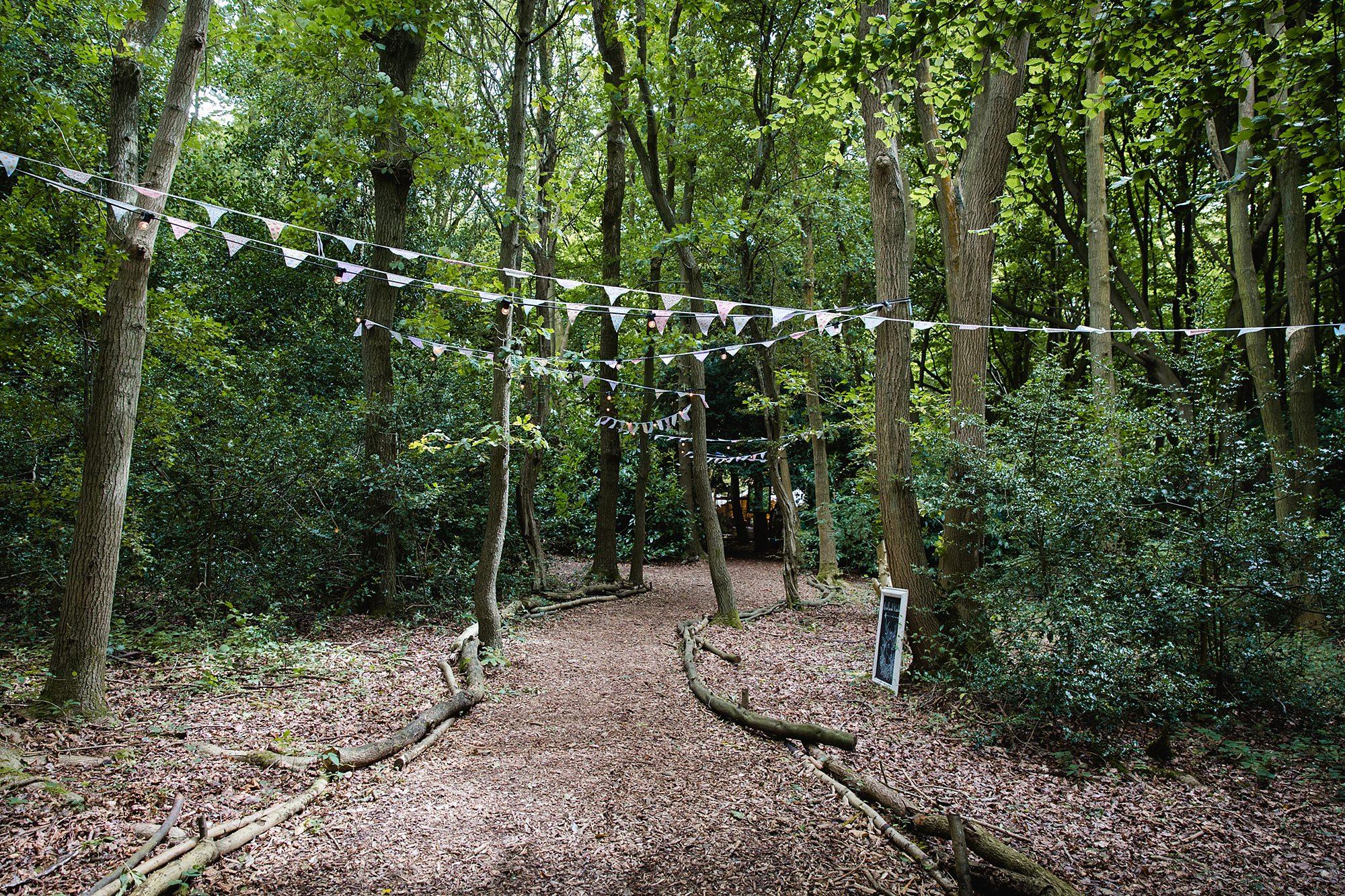 Woodland Weddings Tring entrance