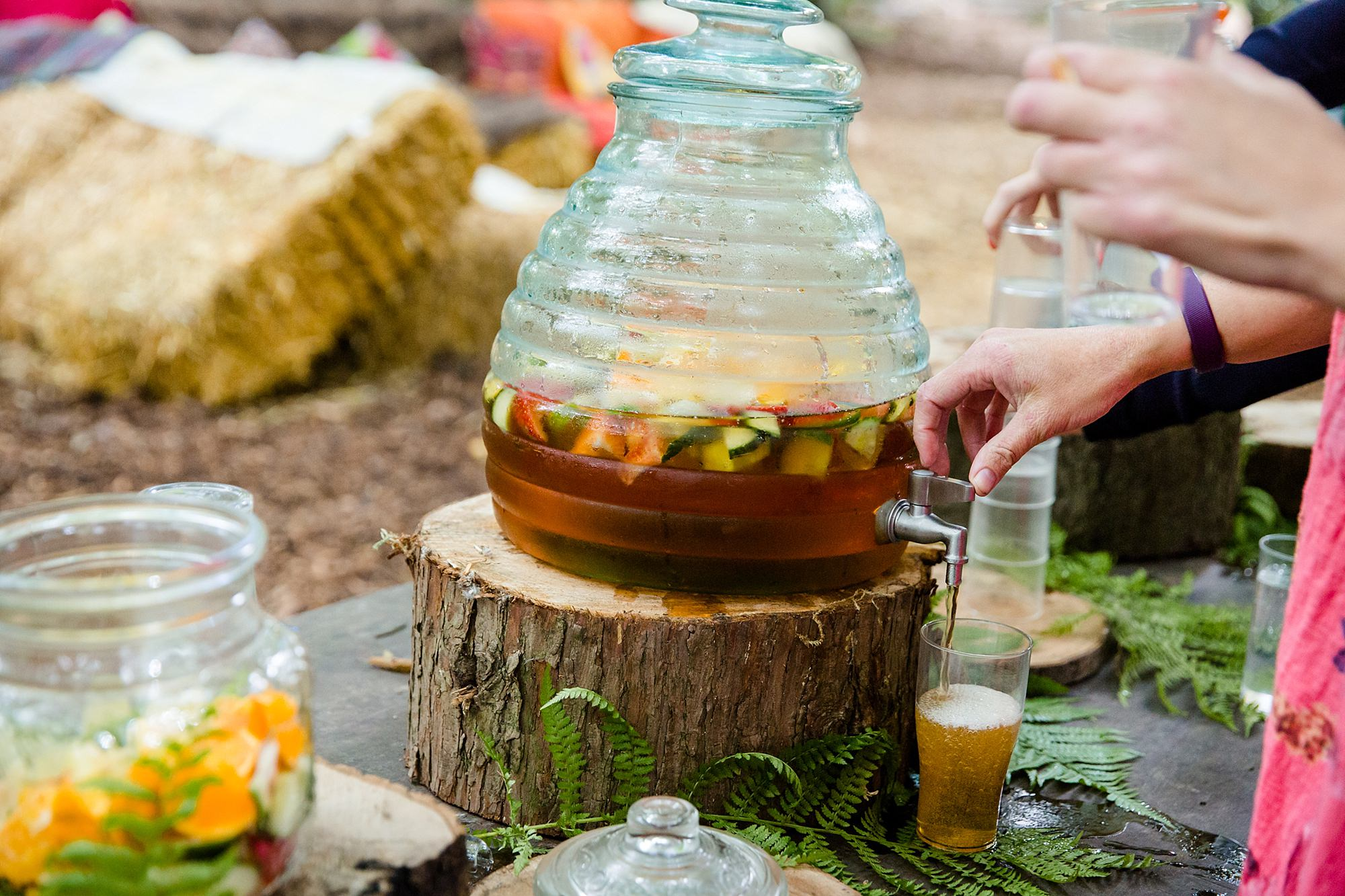 Woodland Weddings Tring pimms