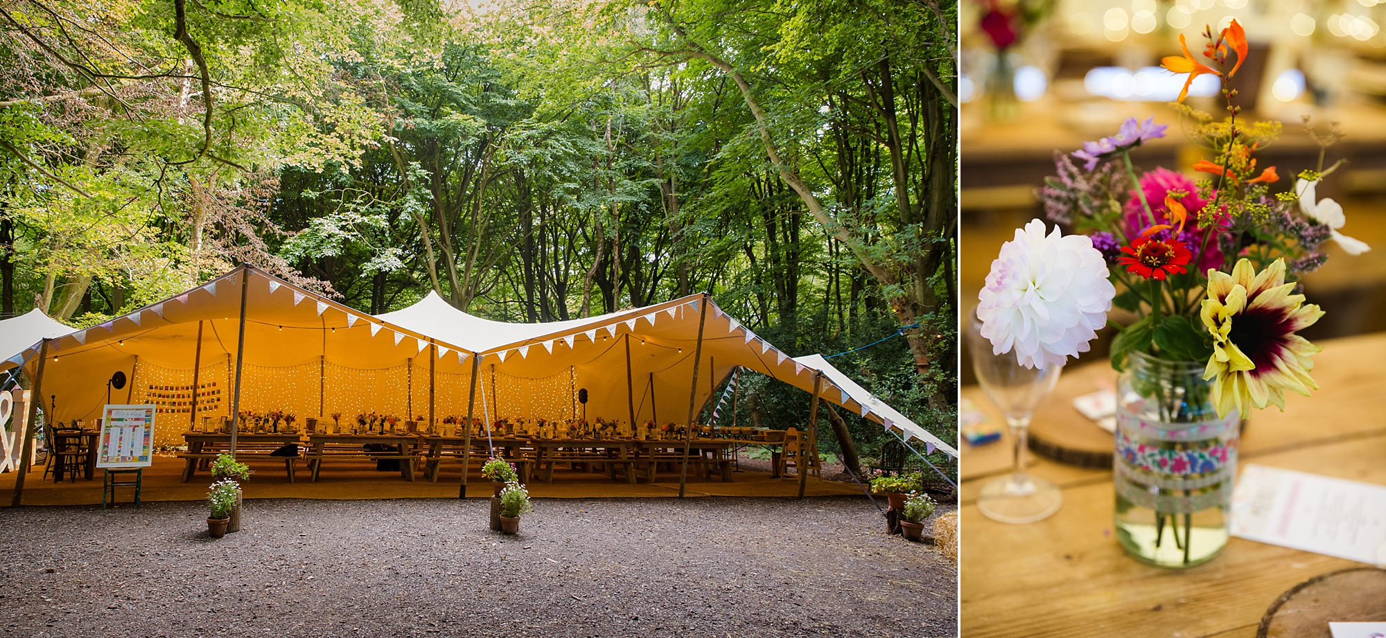 Woodland Weddings Tring decoration