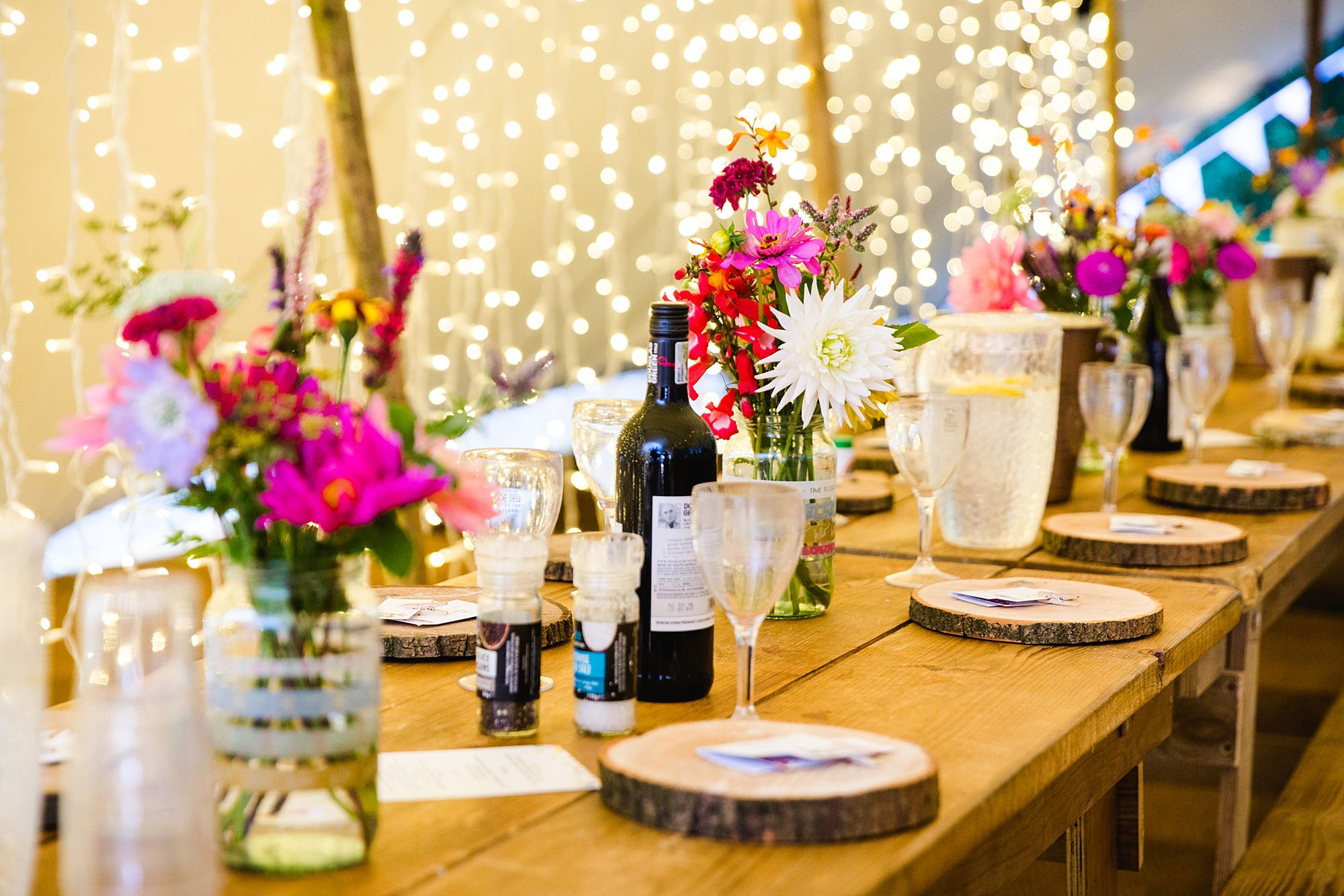 Woodland Weddings Tring place settings