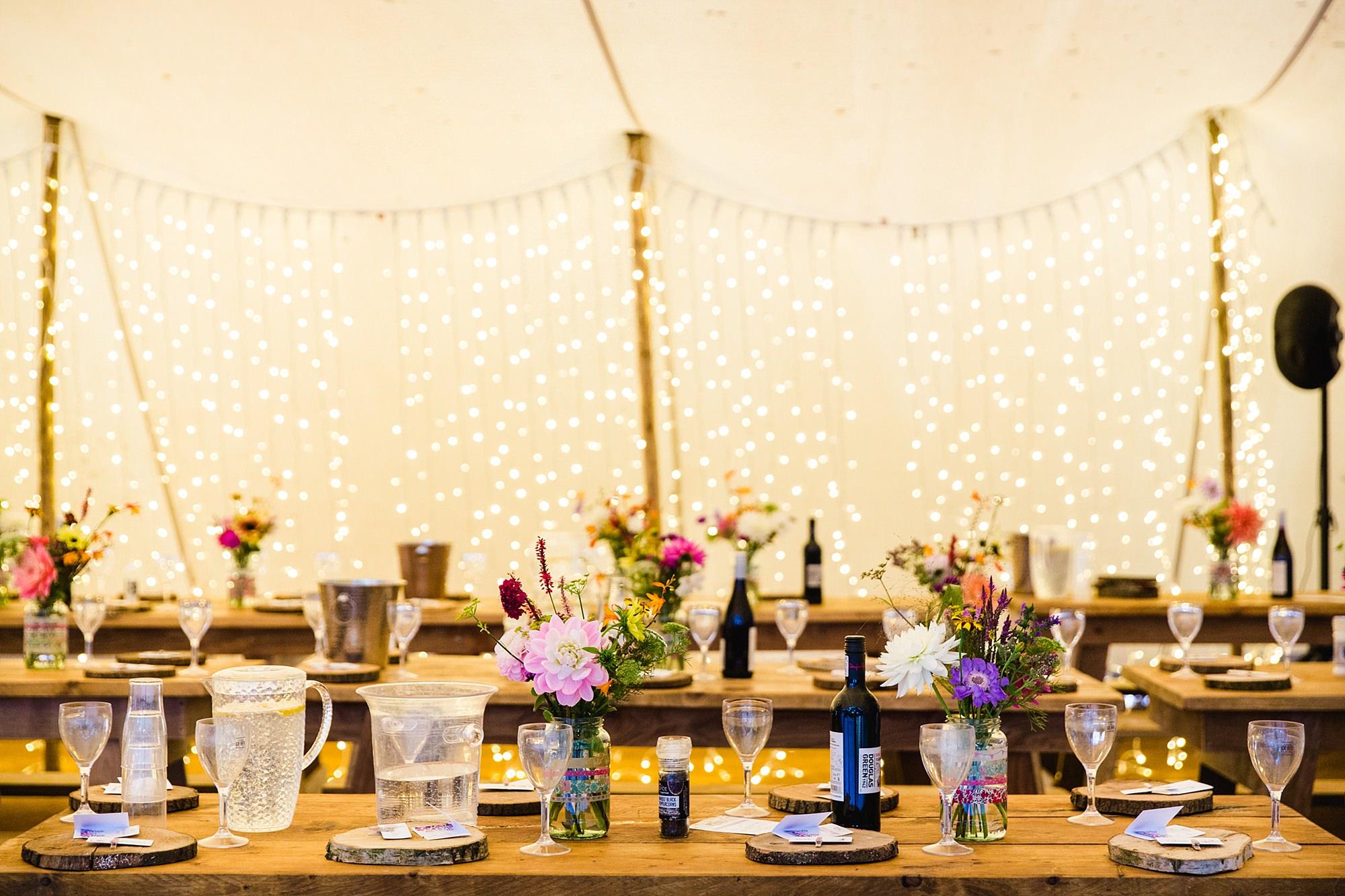 Woodland Weddings Tring wedding table decorations