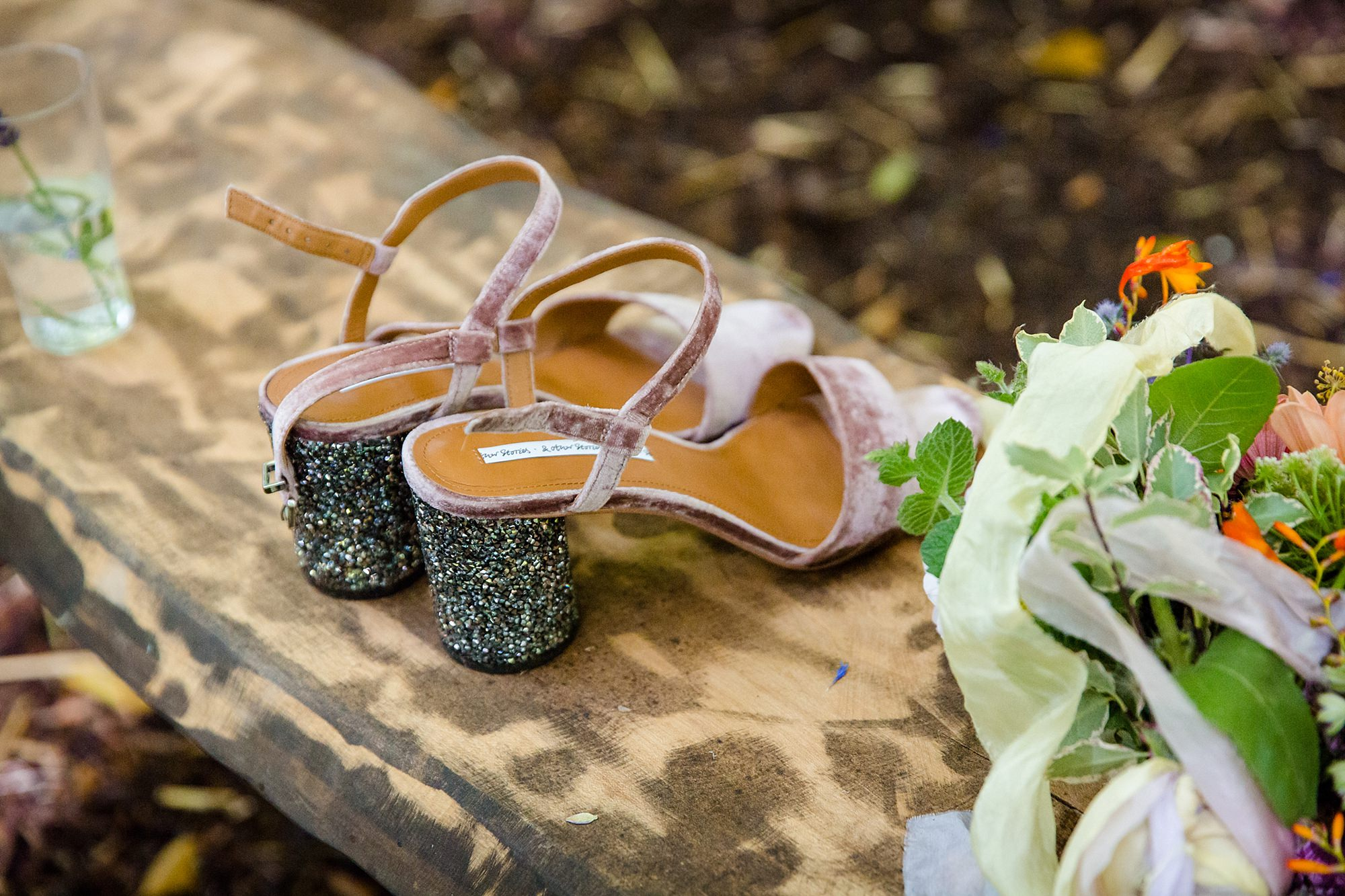 Woodland Weddings Tring wedding shoes