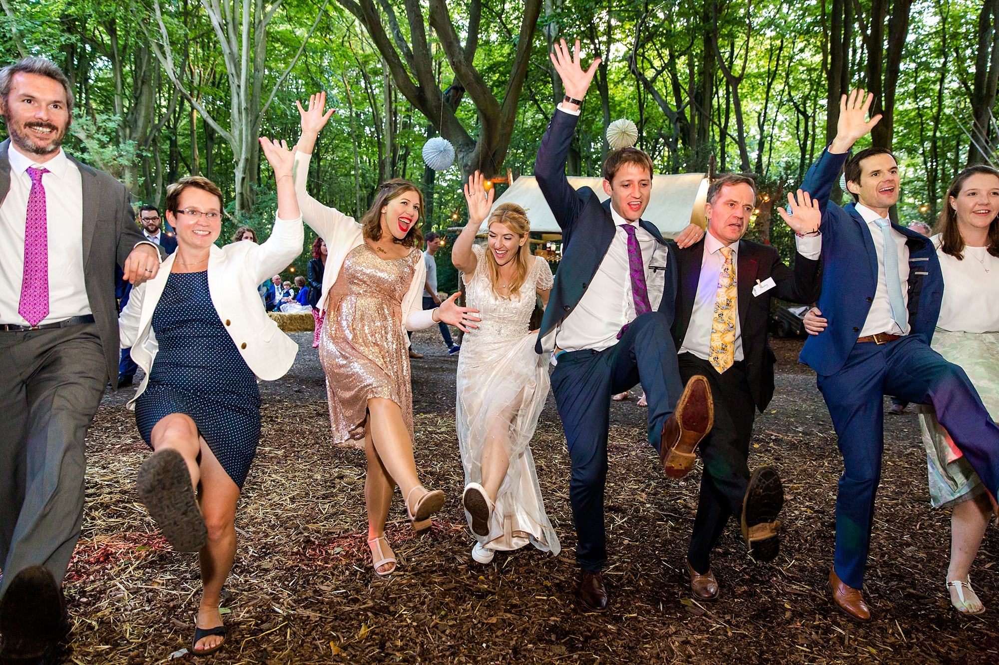 Woodland Weddings Tring wedding swing dancing