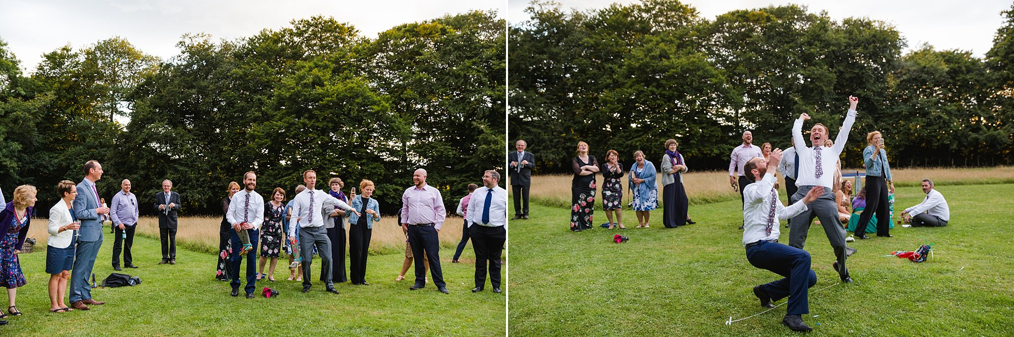Woodland Weddings Tring welly wanging