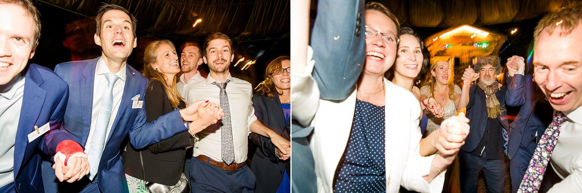 Woodland Weddings Tring crazy guests dancing