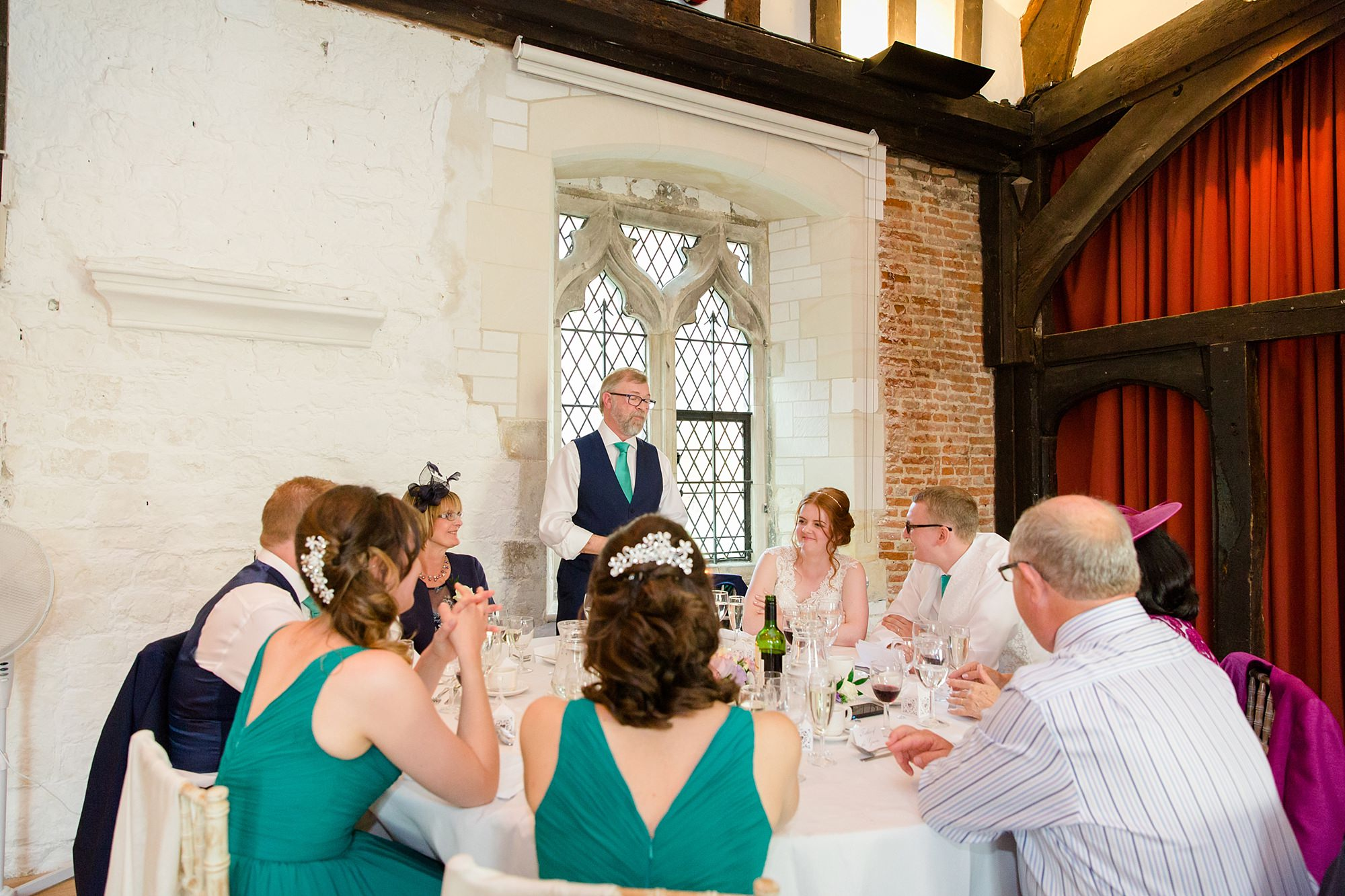 Canon Lane Chichester wedding father of bride speech