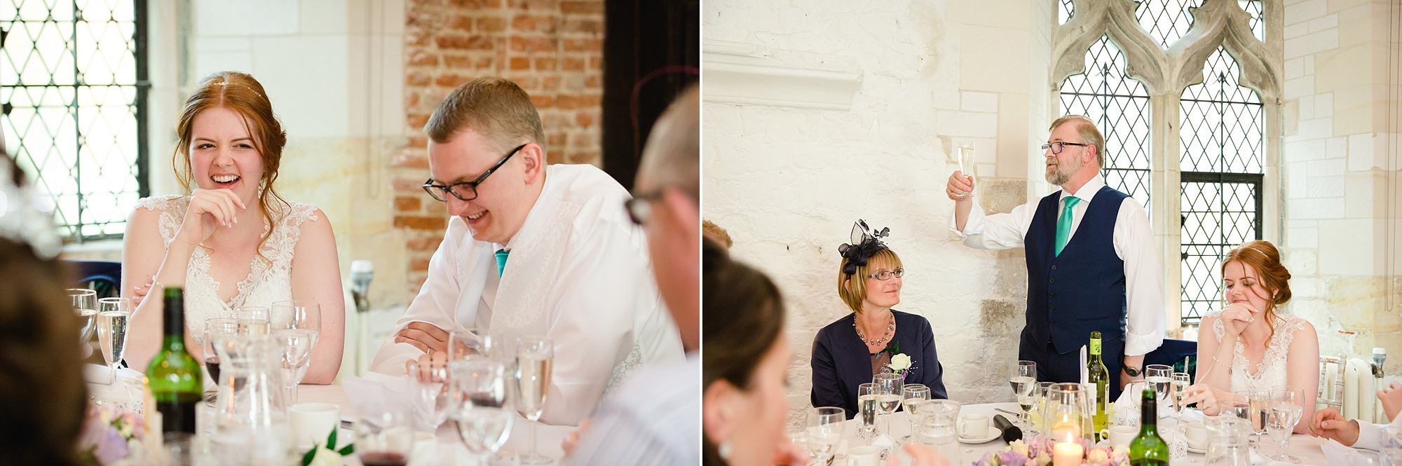 Canon Lane Chichester wedding father of the bride's speech