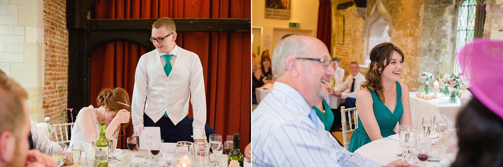 Canon Lane Chichester wedding wedding speeches