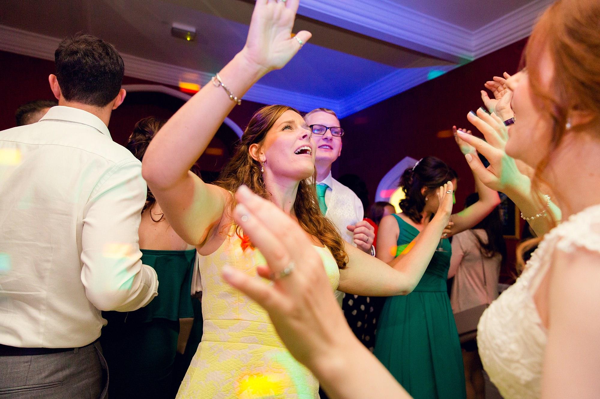 Canon Lane Chichester wedding wedding guests dance