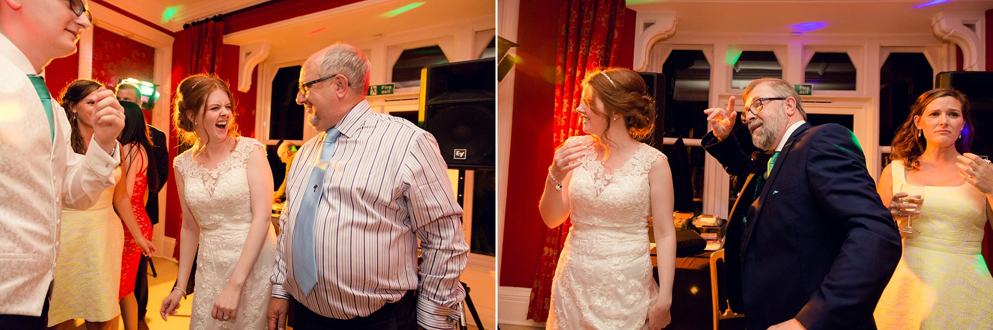 Canon Lane Chichester wedding guests party time